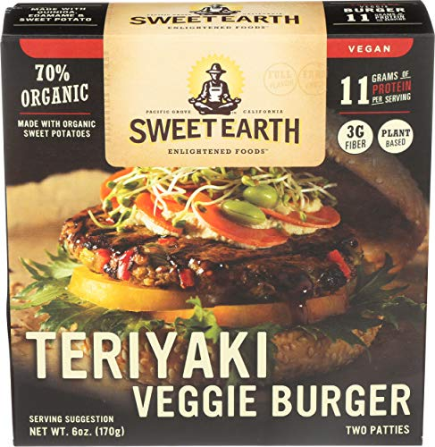 SWEET EARTH BURGER VEGGIE TERIYAKI 6OZ