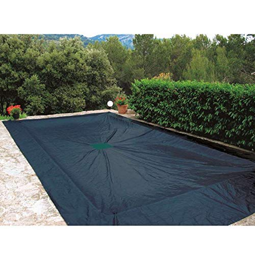 Provence Outillage-Lona 6 x 10 m, Piscina Rectangular de plástico 240 g/m²
