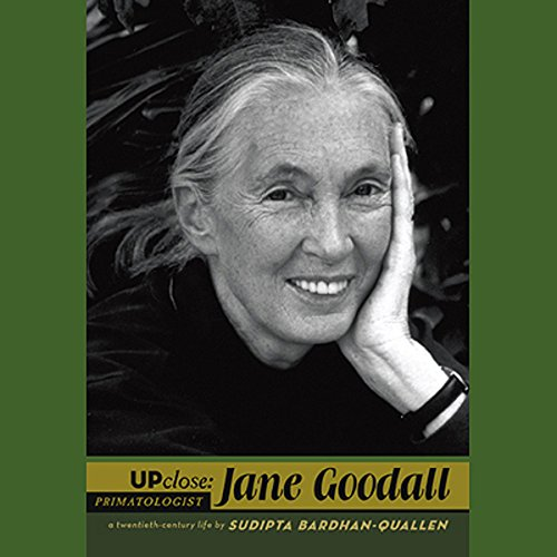 Jane Goodall audiobook cover art