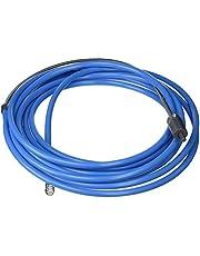 Silverline Buisreinigingsspiraal met boormachineaandrijving, 1 stuks, blauw, 633025