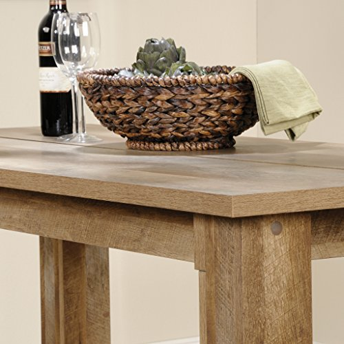 Sauder Boone Mountain Counter Height Dining Table, Craftsman Oak finish