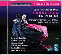 メルカダンテ:歌劇《フランチェスカ・ダ・リミニ》(CD)