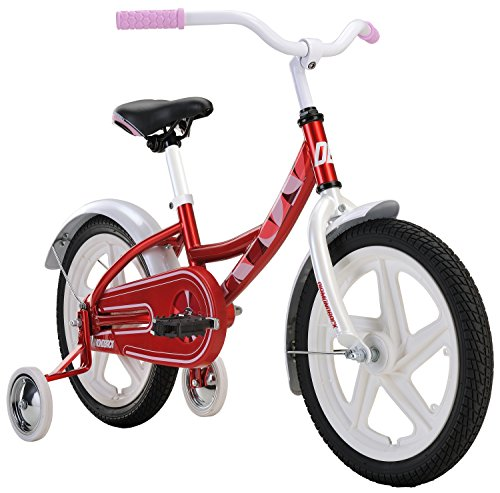 Diamondback Bicycles Girls Mini Impression Sidewalk Bike, Cyan Red