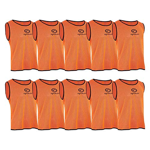 OPTIMUM Trainingstrikots (10er-Packung), Unisex, Training, Orange