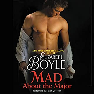 Mad About the Major audiobook cover art