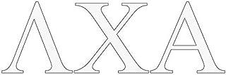 Lambda Chi Alpha Greek Letter Window Sticker Decal