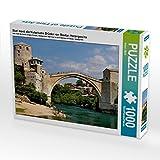 CALVENDO Puzzle Stari Most, die historische Brücke von