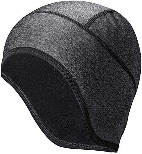 ROCKBROS Mütze Fahrrad Helm Unterziehmütze für Damen Herren Winddicht Warm Bike Cap für Radfahren Skifahren Laufen Outdoor