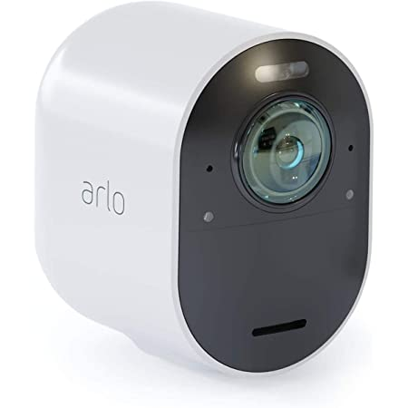 Arlo Ultra 4k Uhd Wire Free Security Add On Camera Indoor Outdoor Security Camera With Colour Night Vision 180 View 2 Way Audio Spotlight Siren Vmc5040 Ultra Smarthub Needed Baumarkt