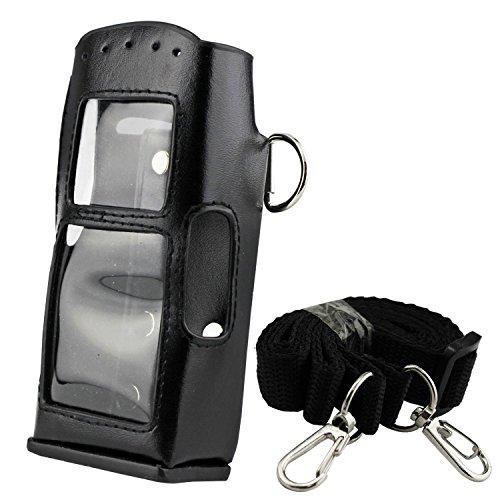 Buwico Harte Pu Leder Handsfree Fall Halterung mit Gürtel Clip für Motorola Radios MTH600MTH650MTH800/MTP850Walkie Talkie