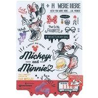 ミッキー&ミニー / ディズニー ダイカット下敷き 日本製 88211