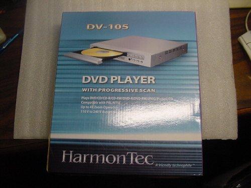 Check Out This HarmonTec DV-105 Progressive Scan NTSC/PAL DVD Player