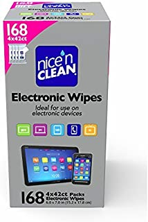Nice 'n Clean Electronic Wipes, 168 Count