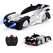 Baztoy Remote Control Car, Kids Toys Wall Stunt RC Car Rechargeable Led Lights Electric Vehicle Children Games Cool Gadgets Gifts for Boys Girls Teenagers Age 3 4 5 6 7 8 9 10 11 12 Years Old