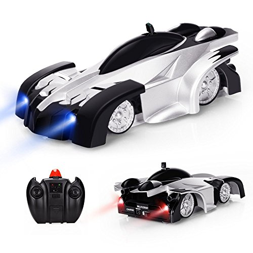 Baztoy Remote Control Car, Kids Toys Wall Stunt Cars Dual Modes 360°Rotation RC Cars Vehicles Toys Children Games Funny Gifts Cool Gadgets for Boys Girls Teenagers Adults, Black