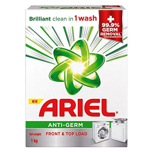 Ariel Anti-Germ Matic Detergent Washing Powder 1kg
