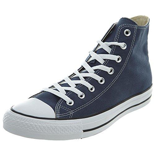 Converse All Star Hi Canvas, Sneakers Unisex Adulto, Blu (Navy/White), 37 EU