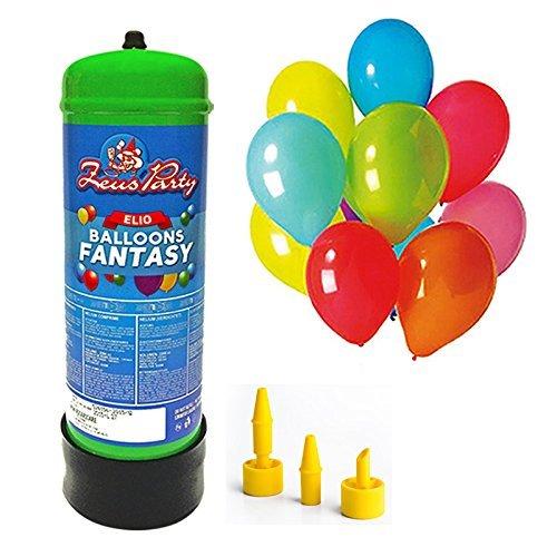 Bombola Gas Elio 2,2 per gonfiaggio di 30 Palloncini Feste Party Compleanno