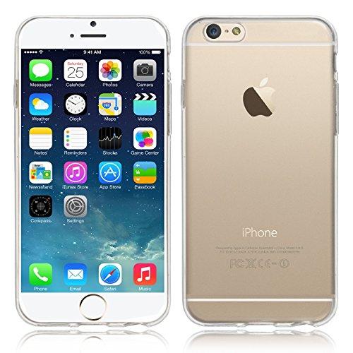 """NOVAGO Compatible avec iPhone 6/iPhone 6S (4.7"""") Coque Souple Transparente et résistante"""