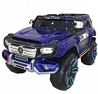 PlayArena RIDE ON POLICE RESCUE CAR FOR KIDS Blue