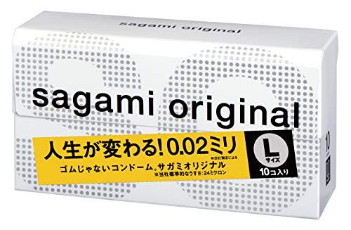 SAGAMI Original Condoms 002 Groot formaat 10 stuks