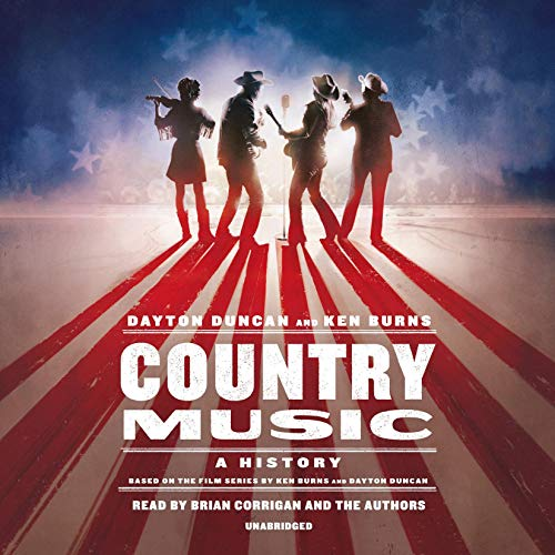 Country Music audiobook cover art