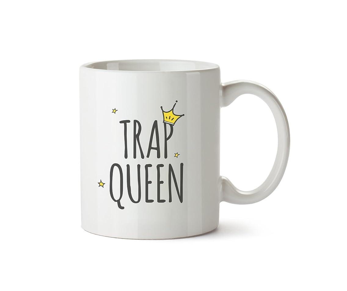 Trap Queen Friendship Wannabe Mug Novelty Gift Ceramic Coffee Cup Tea 10oz