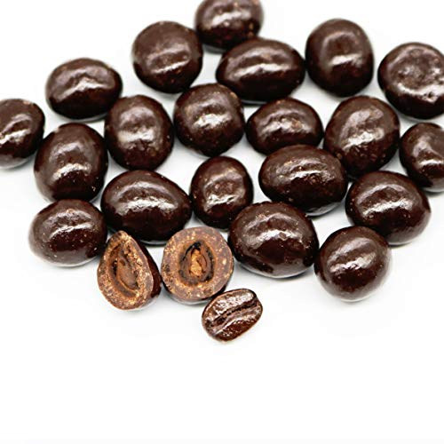 Dark Chocolate Covered Espresso Coffee Beans in Resealable Bag By Smarty Stop (2 Pound)