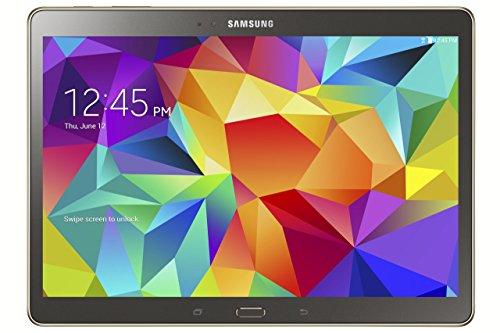 Tablet Samsung Galaxy Tab S de 10.5 pulgadas (16 GB, bronce de titanio)