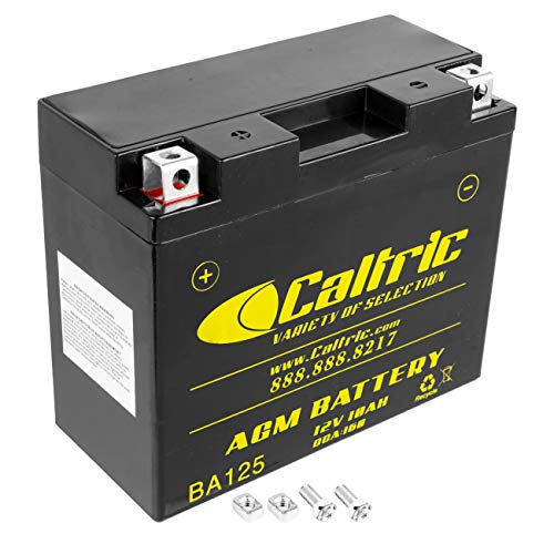Caltric compatible with Yt12B-Bs Agm Battery Ducati 395.2.013.1C 39520131C