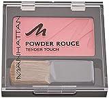 Manhattan Powder Rouge – Pinkes Blush mit Puder Textur und beiliegendem Pinsel – Farbe Pink Hunter 55H – 1 x 5g