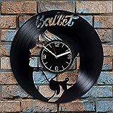 Reloj de ballet de rendimiento para niña, ballet, decoración...