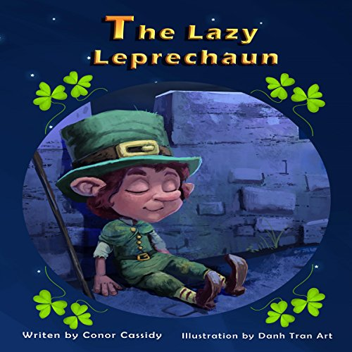 The Lazy Leprechaun audiobook cover art