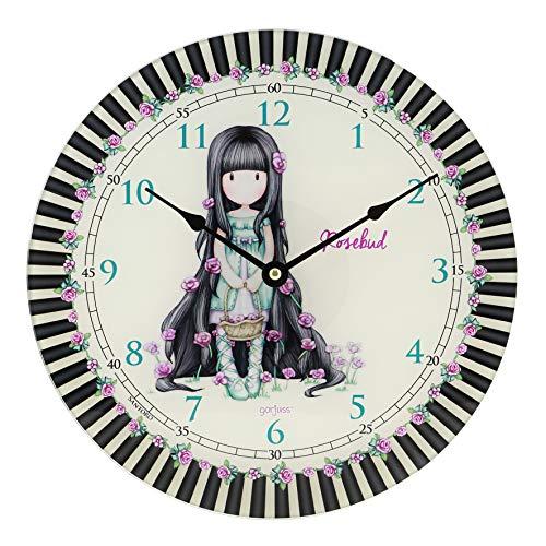 SANTORO Gorjuss Rosebud - Reloj de Pared