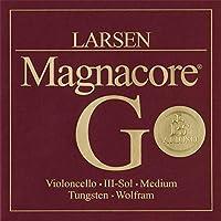 LARSEN MAGNACORE ARIOSO Cuerda 3ェ G (SOL) Violoncello Medium 4/4 Tungsten/Wolfram