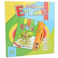 子供の電子書籍、無臭の鮮やかな教育書のおもちゃ、教育は子供のための記憶防水材料を改善します(Orange)