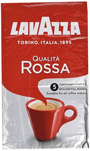 Lavazza Qualit? Rossa, Ground Coffee Espresso 500 g (Pack of 2)