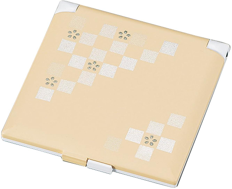 ブロー謙虚なルビー日本伝統色 コンパクトミラー 素色 16486