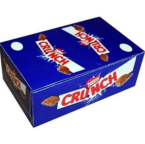 NESTLE CRUNCH BAR (PACCO DA 36PZ) 36x33g barretta di cioccolato e cereali soffiat
