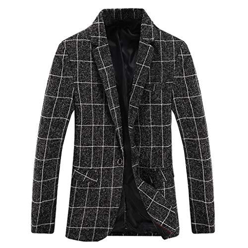 Herenpak Slim Fit Blazer Casual Pullover Herfst Winter Uniform Kostuum Lange Mouw Jas Vintage Party Retro Praty Outwear
