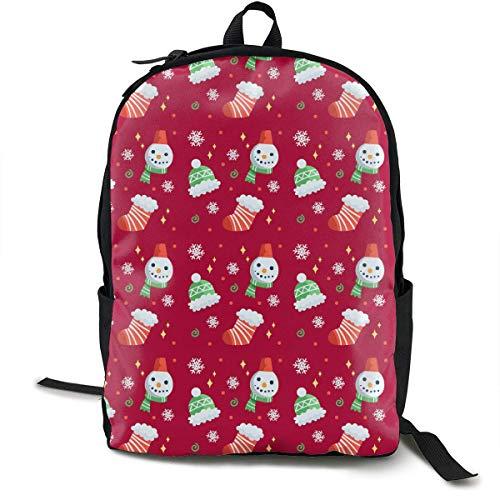 Merry Christmas Travel Computer Bag Laptop Backpack Unisex, School College Fits 15'' Laptop BAG-151
