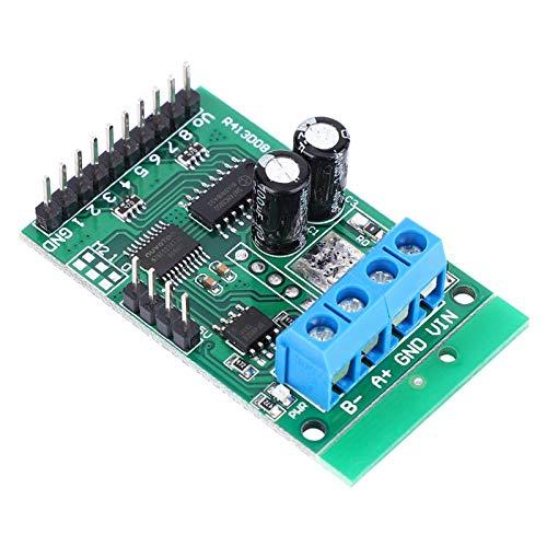 Jeanoko Placa de Interruptor de relé DC 5V PLC Dos Modos de Control Módulo de relé RS232 Duradero Módulo de relé de Control RS485 RTU Estable Robusto para Accesorios industriales