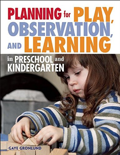 Compare Textbook Prices for Planning for Play, Observation, and Learning in Preschool and Kindergarten NONE  ISBN 9781605541136 by Gronlund, Gaye