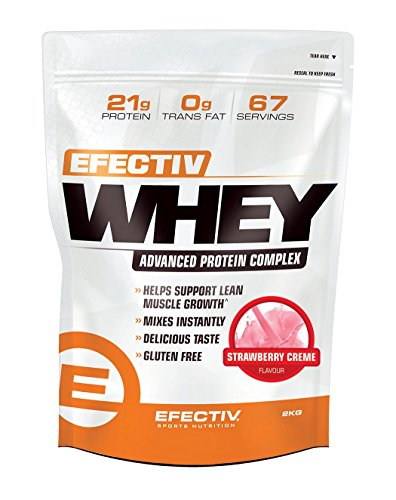 Efectiv Whey Strawberry Creme 2KG