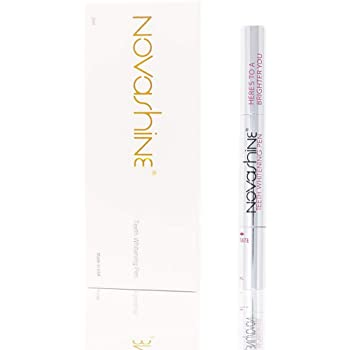 Novashine Teeth Whitening Pen, 2ml 6% Hydrogen Peroxide, Up to 15 whitening treatments