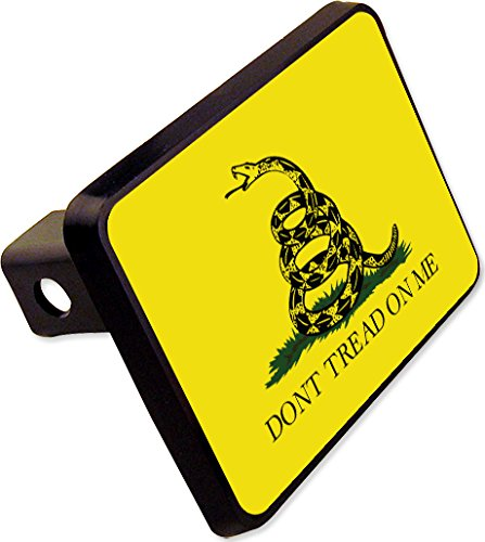 Dont Tread ON ME Flag Trailer Hitch Cover Plug Military Novelty