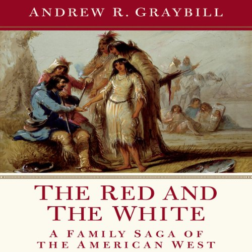 The Red and the White audiobook cover art