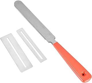 Guitar Fret File Set, Stainless Steel Guitar Grinding Tool Fret File Guitar Gaskets Fingerboard Protector Kit Tools