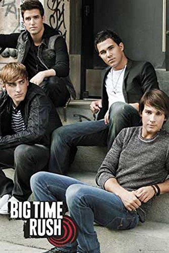 Big Time Rush Steps TV-Serie Musik - Poster - Grösse 61x91,5 cm