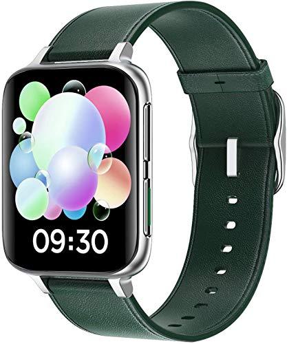 Smartwatch Hombre Mujer, 1.78 Pulgadas Reloj Inteligente con Pulsómetro,Cronómetros,Calorías,Monitor de Sueño,Podómetro Monitores de Actividad Impermeable IP67 Reloj Deportivo para Android iOS